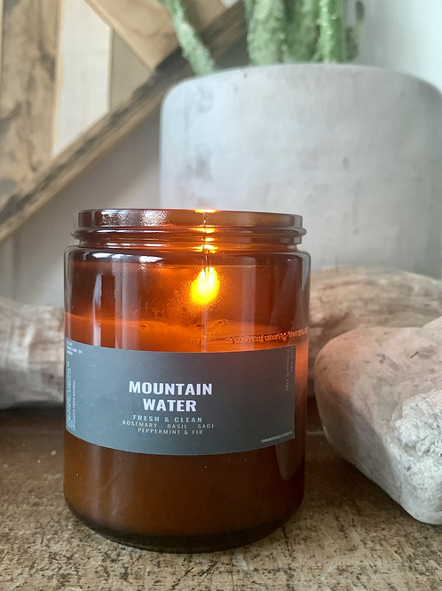 Mountain Water 8oz Candle