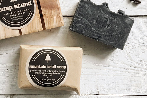Mountain Trail gritty Activated Charcoal Soap