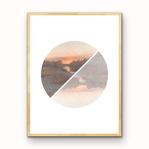 Sheep River Reflections Downloadable Print