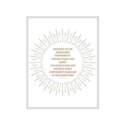 Dancing in the Moonlight  - Downloadable Print