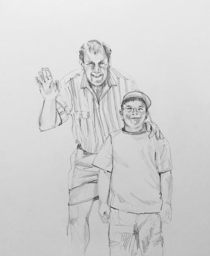 Family Portrait for Kyle