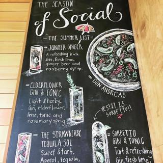 Famoso Summer Chalkboard