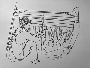 Coast Salish Weaver