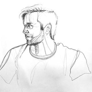 Portrait Line Drawing