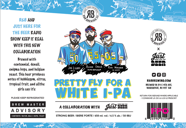 Beer Label for R&B