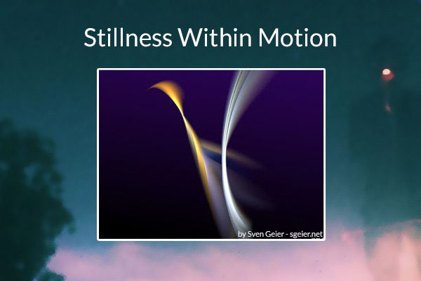 Stillness Within Motion Paul Asbury Seaman