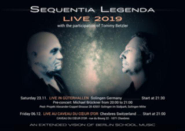 Sequentia Legenda 2019 TOUR