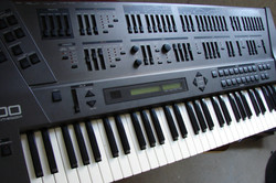 My old synthesizers - Roland JD800