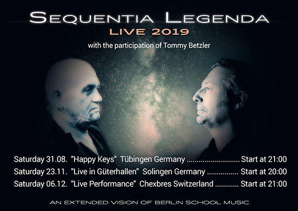 Sequentia Legenda LIVE