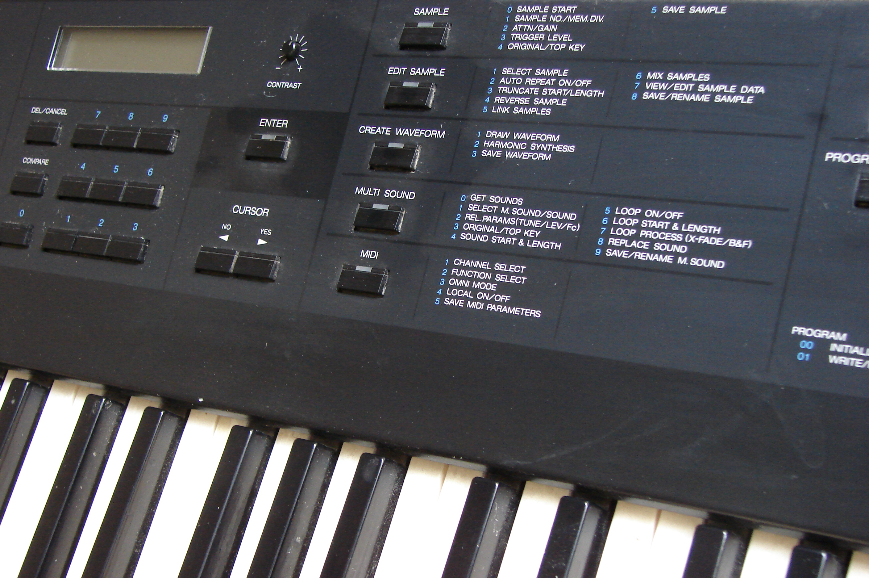 My old synthesizers - Korg DSS1
