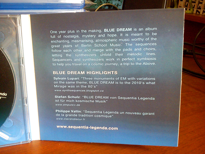 BLUE DREAM by Sequentia Legenda