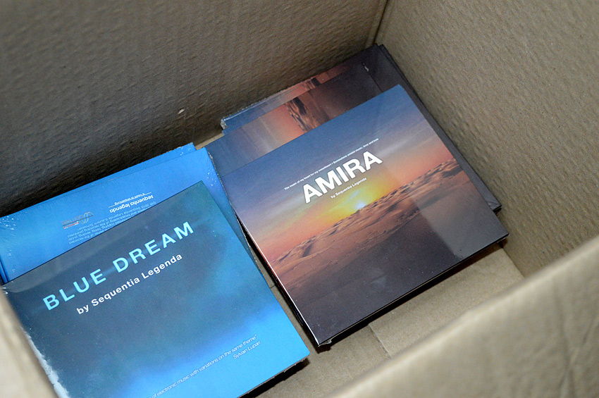 BLUE DREAM and AMIRA Cds