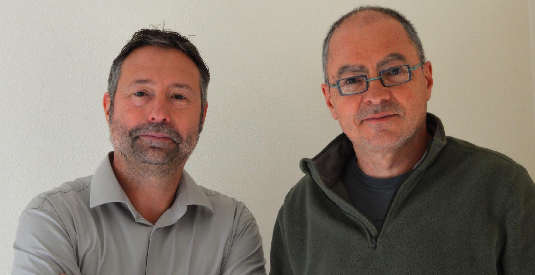 Laurent Schieber et Yves Blanc (La P