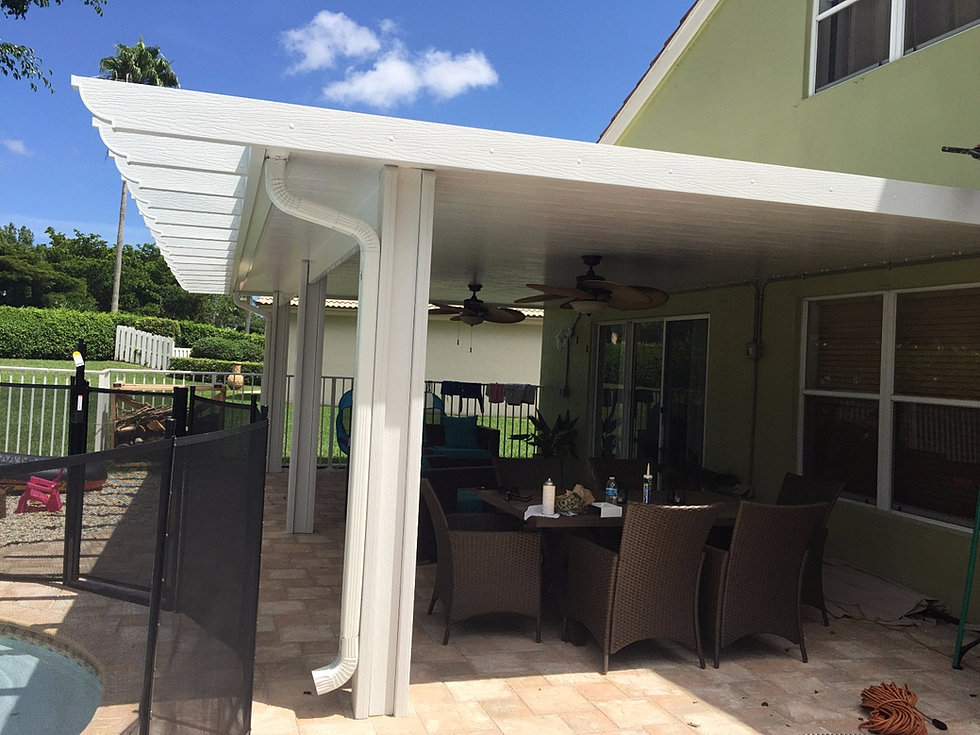 Sunroom Screen Room Insulated Roof Palm Beach Henry S
