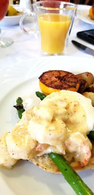 Seafood Eggs Benedict