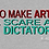 Thumbnail: Go Make Art & Scare a Dictator - Men's Long Sleeve Shirt
