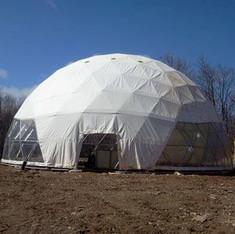 Bio-Energy Greenhouse Dome