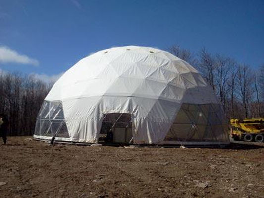 Bio-Energy Greenhouse Dome