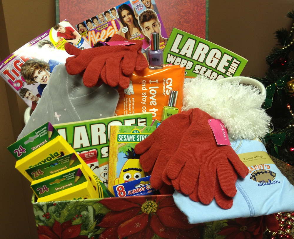 Children's Mercy donation basket