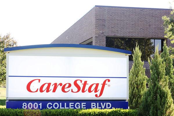 CareStaf's new building on College.