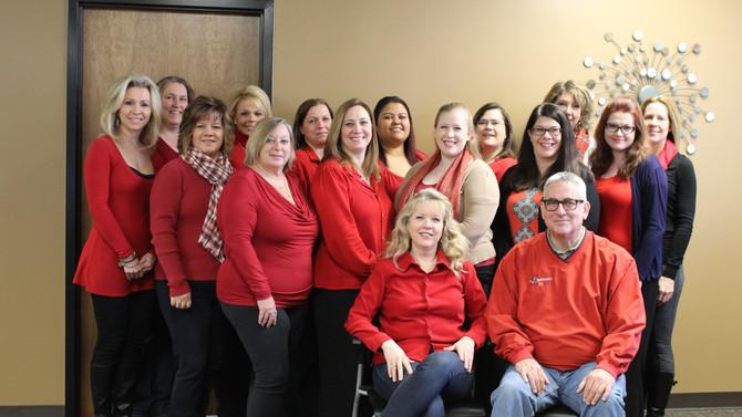CareStaf Celebrates Go Red For Women