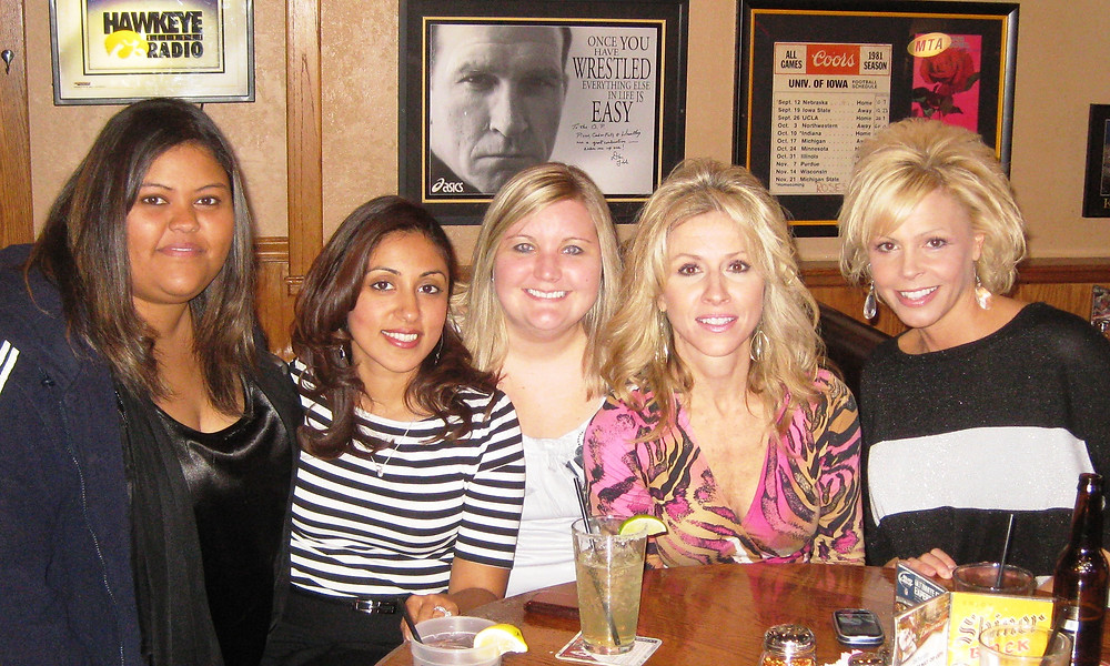 Left to right: Donna, Anju, Brooke, Mary, Pam
