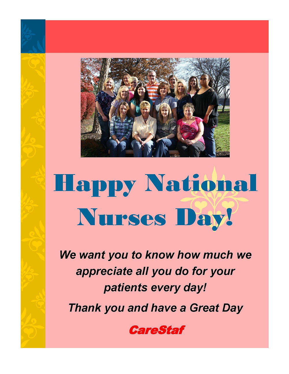 National Nurses Day - Thank you from CareStaf