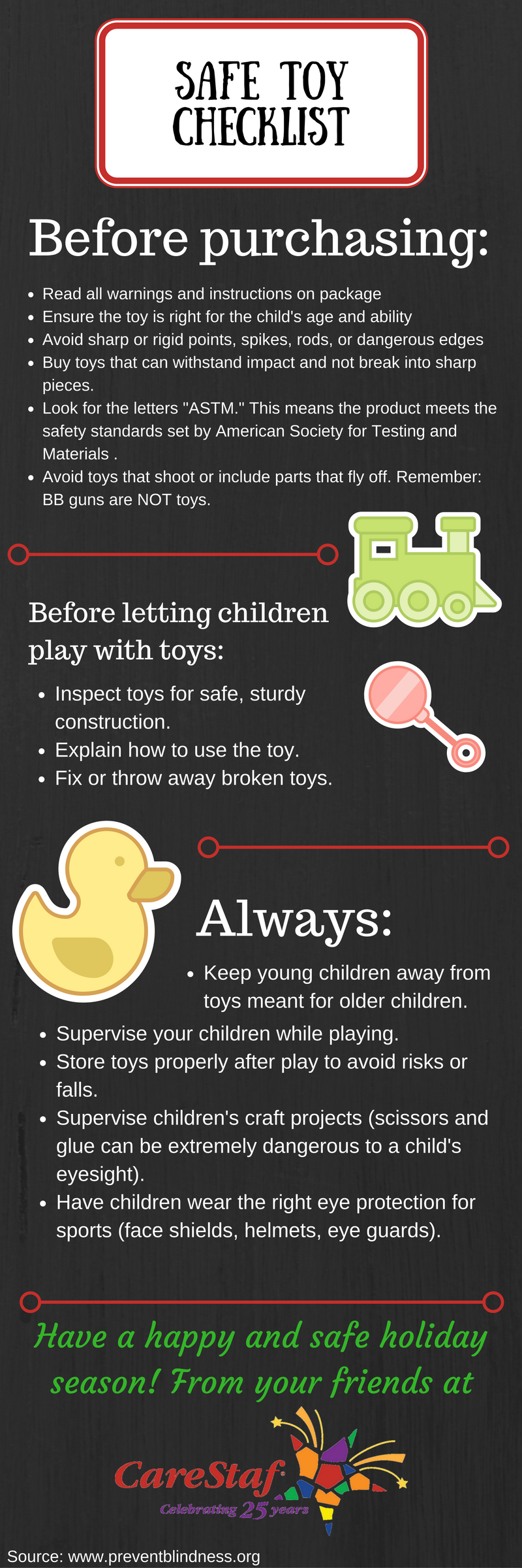 Safe Toy Checklist