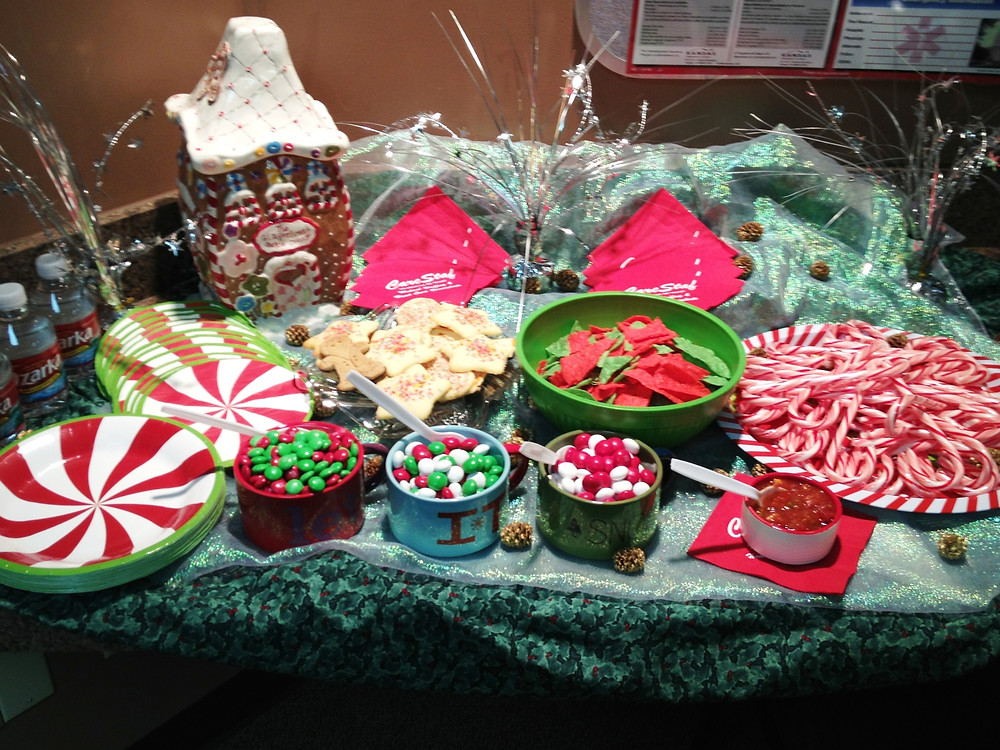 """Holiday Open House """"Table of Treats"""""""