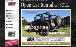 Open Car Rental