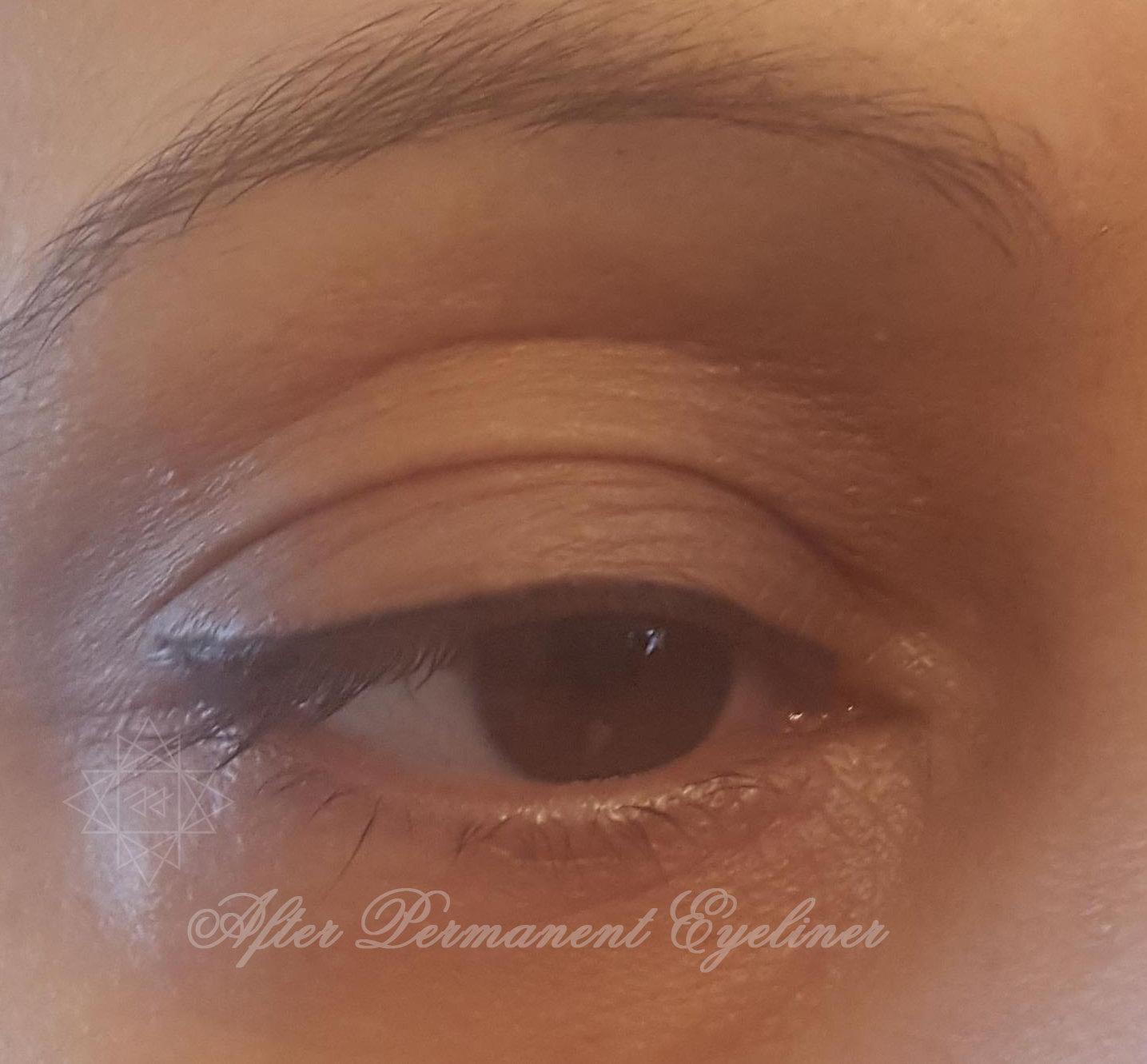 Permanent Eyeliner Upper-Session 1