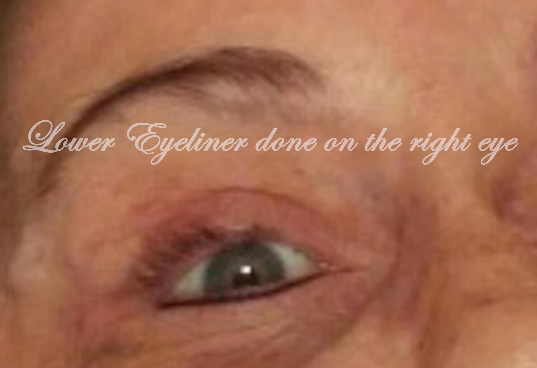Permanent Eyeliner Lower-Session 1