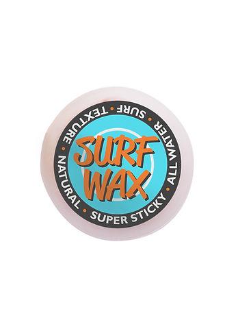 étiquette de cire de Surf