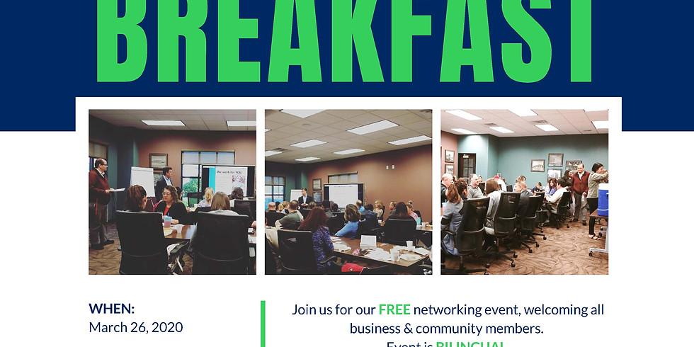 March Networking Breakfast