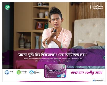 Client : ACI | Freedom sanitary napkin