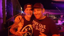 My friend Kyle Baltus and I