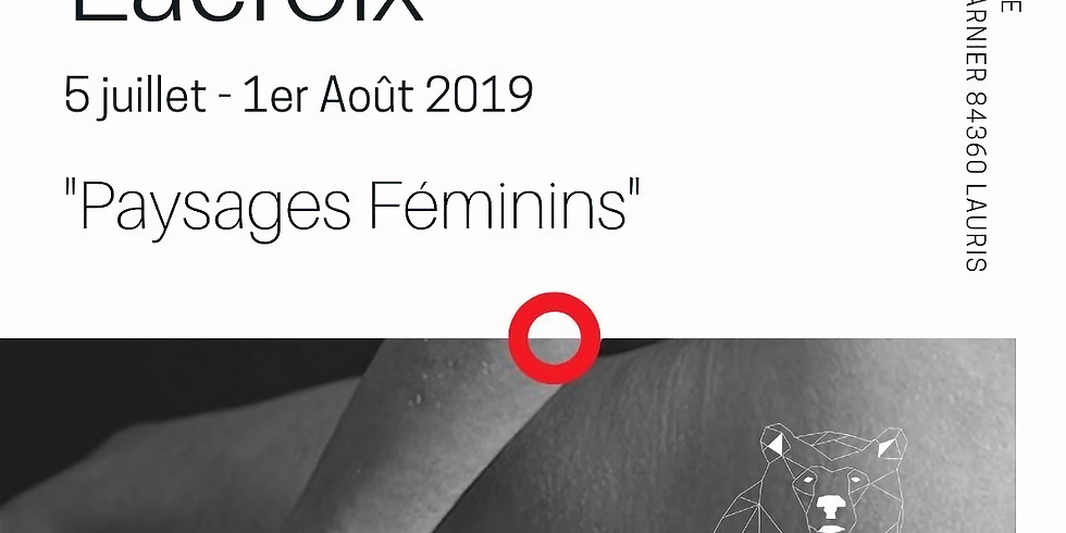 """ApérOExpo """"Paysages Féminins"""""""