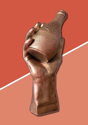 Statuette publicitaire Orangina en résine, Georges Vila