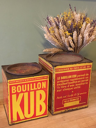 Boîte métallique Bouillon Kub (petit modèle)