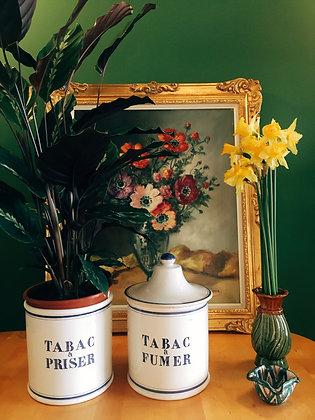 Mini-vase vert/marron
