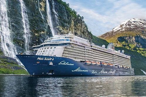 Mein Schiff 4 Skandinavische Städte 11. - 14.09.2021