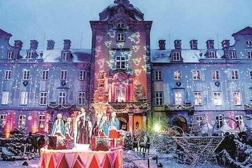 Weihnachtszauber Schloß Bückeburg täglich 25.11.-05.12.2021