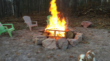 Looking forward to a fantastic Spring and Summer with the outdoor fire pit