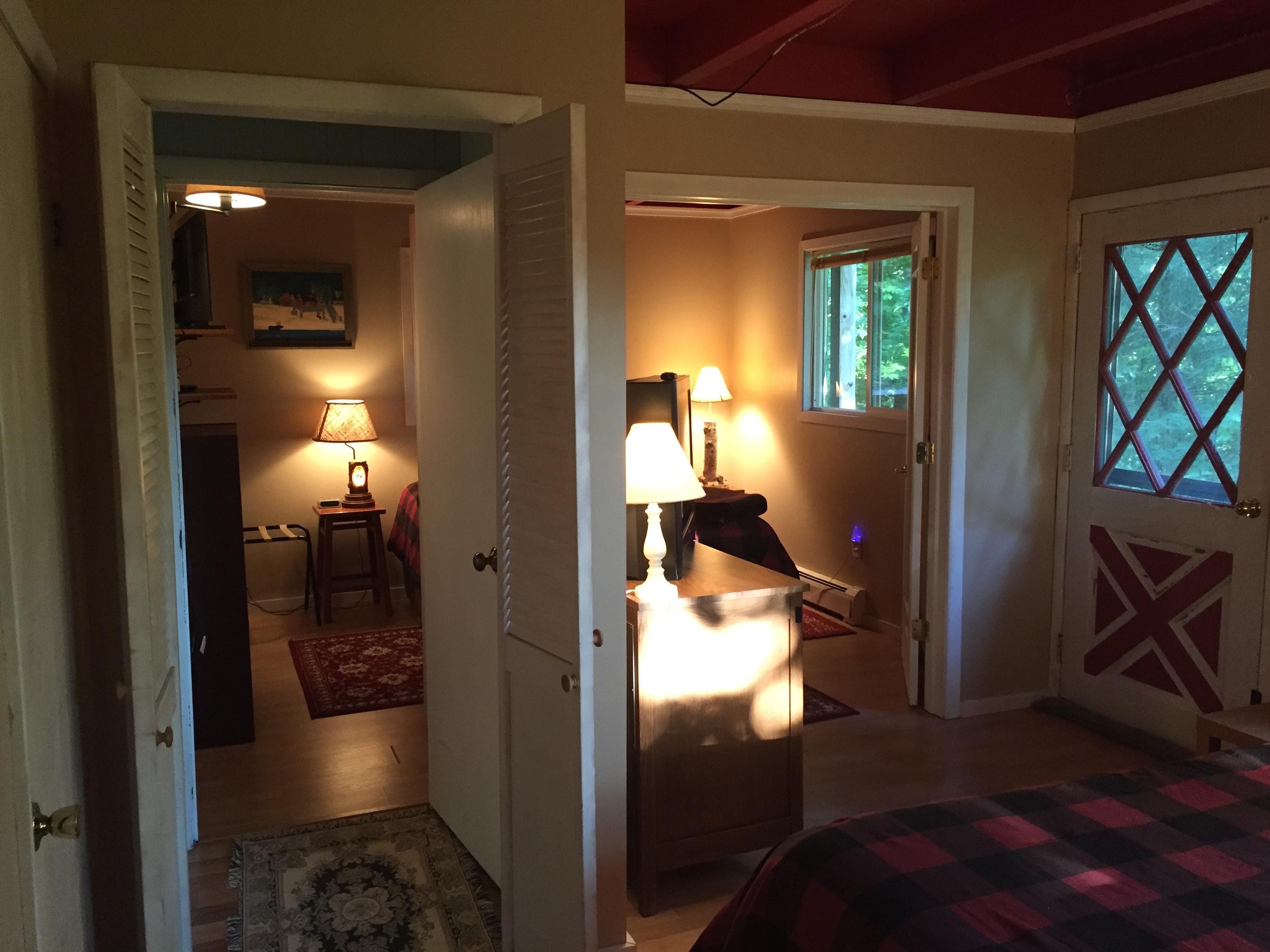 Chalet and Northwoods Queen Bedrooms
