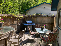 Back Deck with 2nd Gas Grill