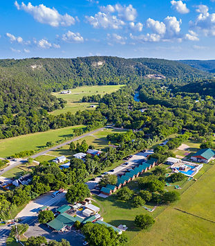 Summit Resort Canyon Lake TX Aerial View