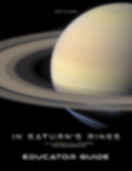 In Saturn's Rings Educator Guide Cover