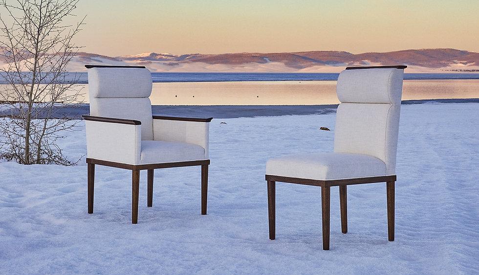 Michael Trent Coates Custom Lounge Chairs