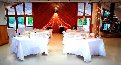 Canyon Lake Wedding Reception Space
