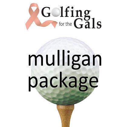 Mulligan Package (per person)